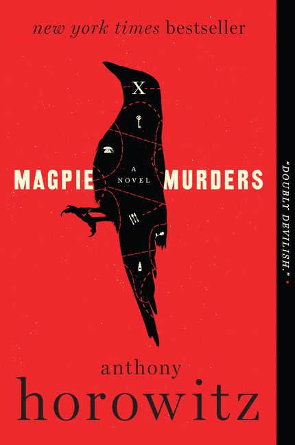 Paperback cover of Magpie Murders by Anthony Horowitz